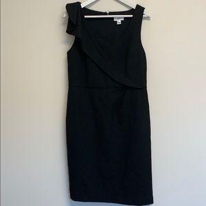 Ann Taylor Loft black sleeveless dress sz 10